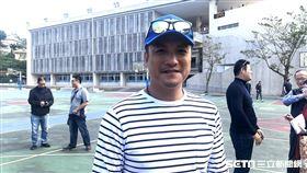 ▲潘武雄出席華興、美和OB賽。(圖/記者黃泓哲攝影)