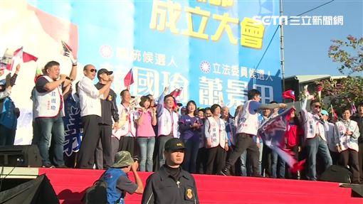 彰化縣議長謝典霖,國民黨總統候選人韓國瑜。(圖/資料畫面)