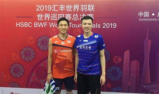 ▲王子維在羽球年終賽打出並列第3的台灣最佳成績。(圖/欒勁教練提供)