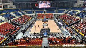 和平籃球館,SBL。(圖/記者劉家維攝影)