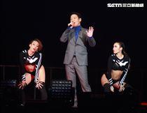 黎明睽違25年,首次在台灣舉辦大型Leon Metro Live 2.0演唱會臺北站引爆小巨蛋。(記者邱榮吉/攝影)