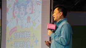內政部次長陳宗彥15日受邀出席「小英新住民姊妹會模擬投票活動」,呼籲新住民票投民進黨。(圖/民進黨提供)