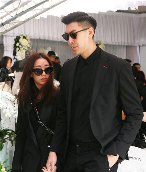 高以翔告別式,毛加恩夫妻,記者林士傑攝影