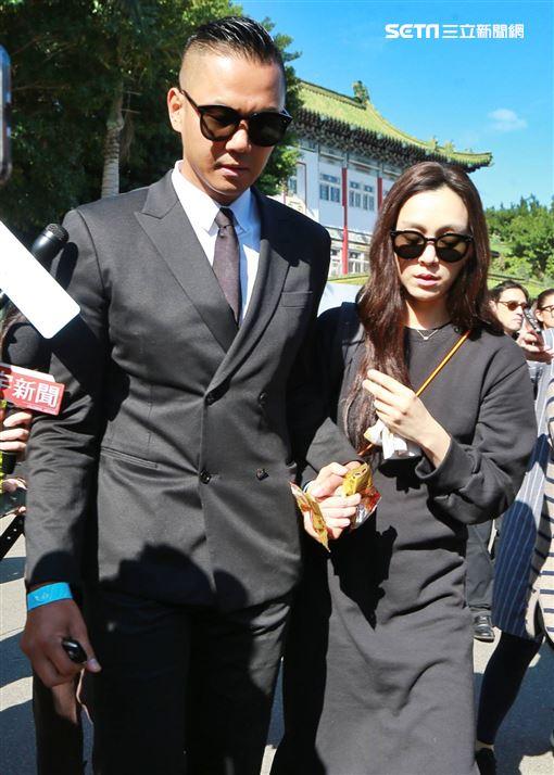 高以翔告別式,黑人陳建州,范范范瑋琪,記者林士傑攝影