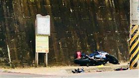 重機,車禍,摔車,車友,新竹/翻攝自Facebook/我是新竹縣北埔人