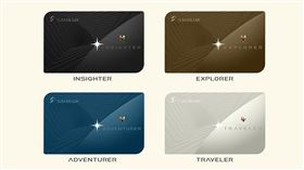星宇航空四種會員制度會員卡亮相。(圖/業者提供)