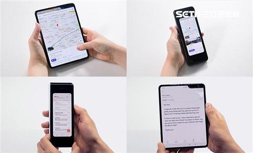 開箱,三星,Galaxy Fold,摺疊手機,螢幕圖/台灣三星提供