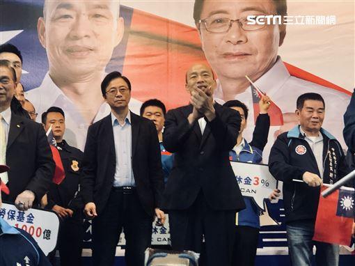 韓國瑜、張善政