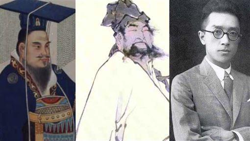 漢武帝、蘇東坡、胡適。