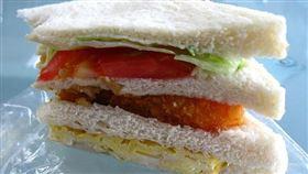三明治,早餐,早餐店, 圖/攝影者Conor, Flickr CCLicense https://flic.kr/p/5pp13f