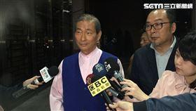 張安樂,白狼,統促黨,北檢 記者李依璇攝影