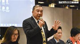 中華民國不動產聯盟總會與六大不動產業記者會。(圖/記者陳韋帆攝影)