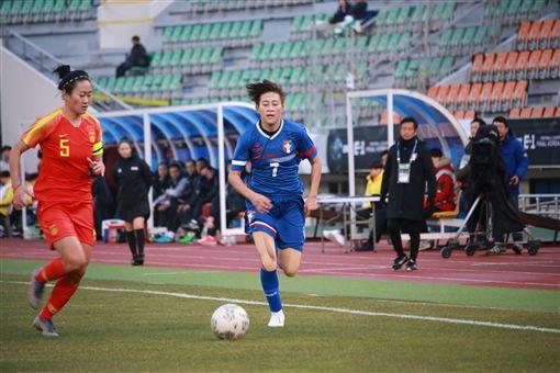 ▲中華女足在東亞錦標賽愈踢愈有氣勢。(圖/中華足協提供)