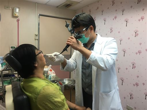 南投醫院,吳昭寬,黴菌性鼻竇炎,鼻子(圖/南投醫院提供)