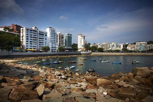 ▲生活在赤柱,隨時都能欣賞海景。(圖/香港旅遊發展局)