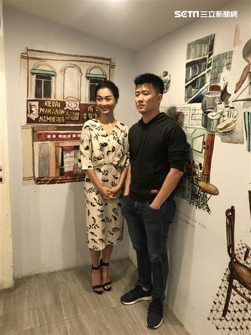 《菠蘿蜜》廖克發、陳雪甄 記者邱于倫攝影