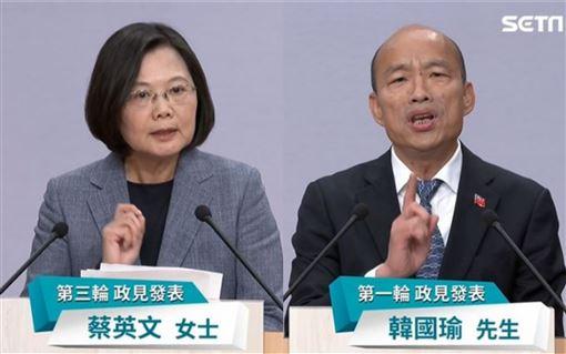 韓國瑜稱「世界已經忘記台灣」…蔡英文22秒回擊辣翻!
