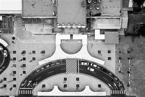 余信賢,紐約攝影藝術展,銀獎,空拍,故宮南院(圖/余信賢提供)中央社