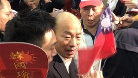 韓國瑜、張善政 記者林恩如攝影