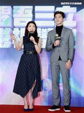 林書煒、宋緯恩擔任「醒吾三立影視學院」大使。(記者邱榮吉/攝影)