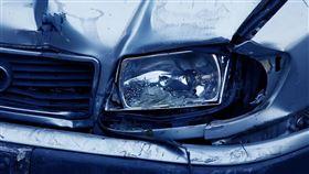 車禍,撞車,意外(圖/Pixabay)