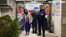 新北市李姓少女離家出走3天險些餓昏,所幸林口分局警員及時將她帶回安置(翻攝畫面)