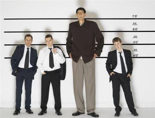 中國,鮑喜順,巨人,兒子,身高(圖/翻攝自騰訊網)