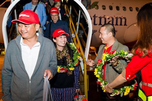 ▲越捷航空正式開通台北至峴港新航線(圖/越捷航空提供)