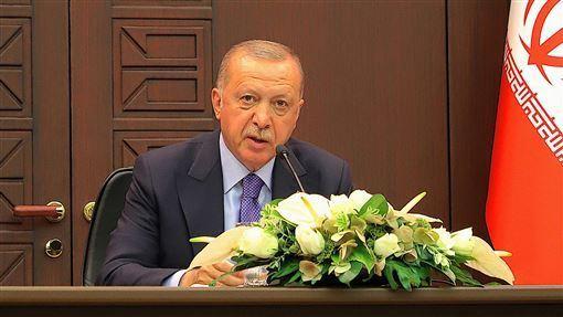 土耳其,艾爾段,提議軍援,利比亞全國,團結政府,接受(圖/中央社)