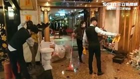 龍亨酒店遭砸