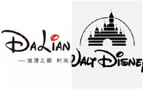 中國logo設計「抄襲迪士尼」!大雜燴網驚:膽子真肥…(圖/翻攝自微博)