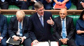 英國首相強生盼透過國會主導立法,讓英國2020年1月31日脫歐,脫歐法案20日將首度在新的下議院進行表決。下議院領袖芮斯莫格(圖中)表示,脫歐法案將於2020年1月7、8、9日進行辯論。(圖取自twitter.com/CommonsLeader)