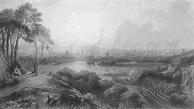 工業革命。(圖/翻攝自維基百科)