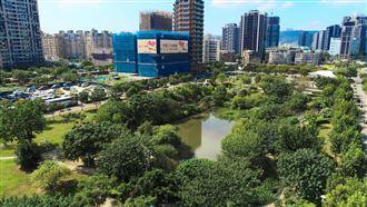 竹城副都心溼地公園首排