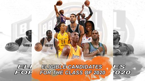 ▲2020籃球名人堂候選名單公布。(圖/翻攝自Naismith Memorial Basketball Hall of Fame臉書)