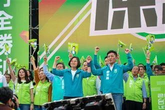蔡英文將四度造訪竹市拚國會過半