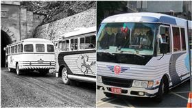 蘇花公路,50 60年代的金馬號。(圖/翻攝自臉書)