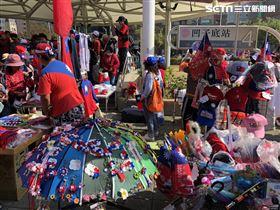 ▲韓粉參加1221挺韓遊行。