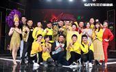 大咖巨星吳宗憲、白冰冰等藝人參加過年節目「超級華人風雲大賞」錄影。(記者邱榮吉/攝影)
