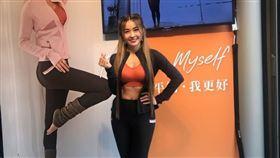 小嫻今(21日)出席MOLLIFIX瑪莉菲絲品牌聯名記者會。圖/品牌提供