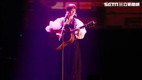 鄭宜農21日在天母體育館舉辦演唱會(記者林士傑攝影)