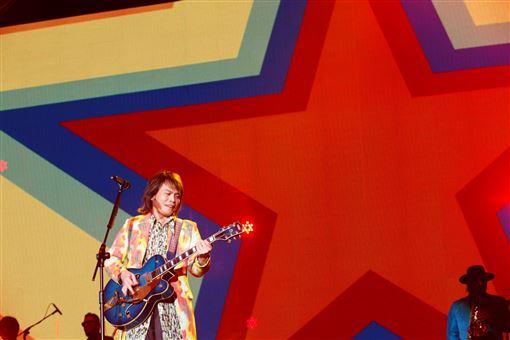 伍佰今(21日)舉辦「Rock Star 2019世界巡迴演唱會」高雄站
