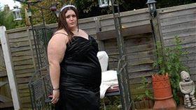 食物,身材,英國,土耳其,Elizabeth Watkins,離婚,壓力,暴飲暴食,發胖,減重, 圖/翻攝自推特 https://parg.co/2SP