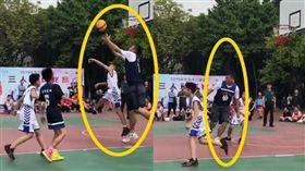 中國,籃球,小學,比賽,身高(圖/翻攝自星島網)