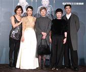 李烈、郎祖筠出席柴智屏女兒婚宴。(記者邱榮吉/攝影)