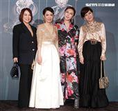方芳芳、葉璦菱、利菁出席柴智屏女兒婚宴。(記者邱榮吉/攝影)