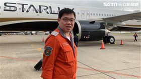 星宇航空,張國煒,二號機抵達桃園機場,記者陳啟明拍攝