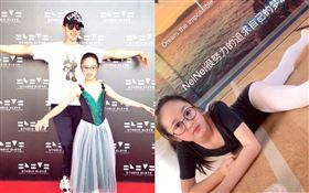 男星吳尊,9歲女兒NeiNei/馬來西亞參加芭蕾舞比賽。微博