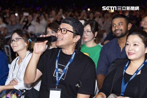 林俊傑阿杜聖所演唱會新加坡場JFJ Productions提供