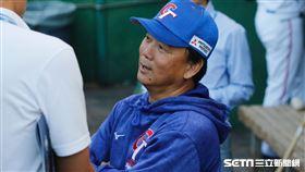 世界12強棒球賽,P12,中華隊總教練洪一中。(圖/記者林聖凱攝影)